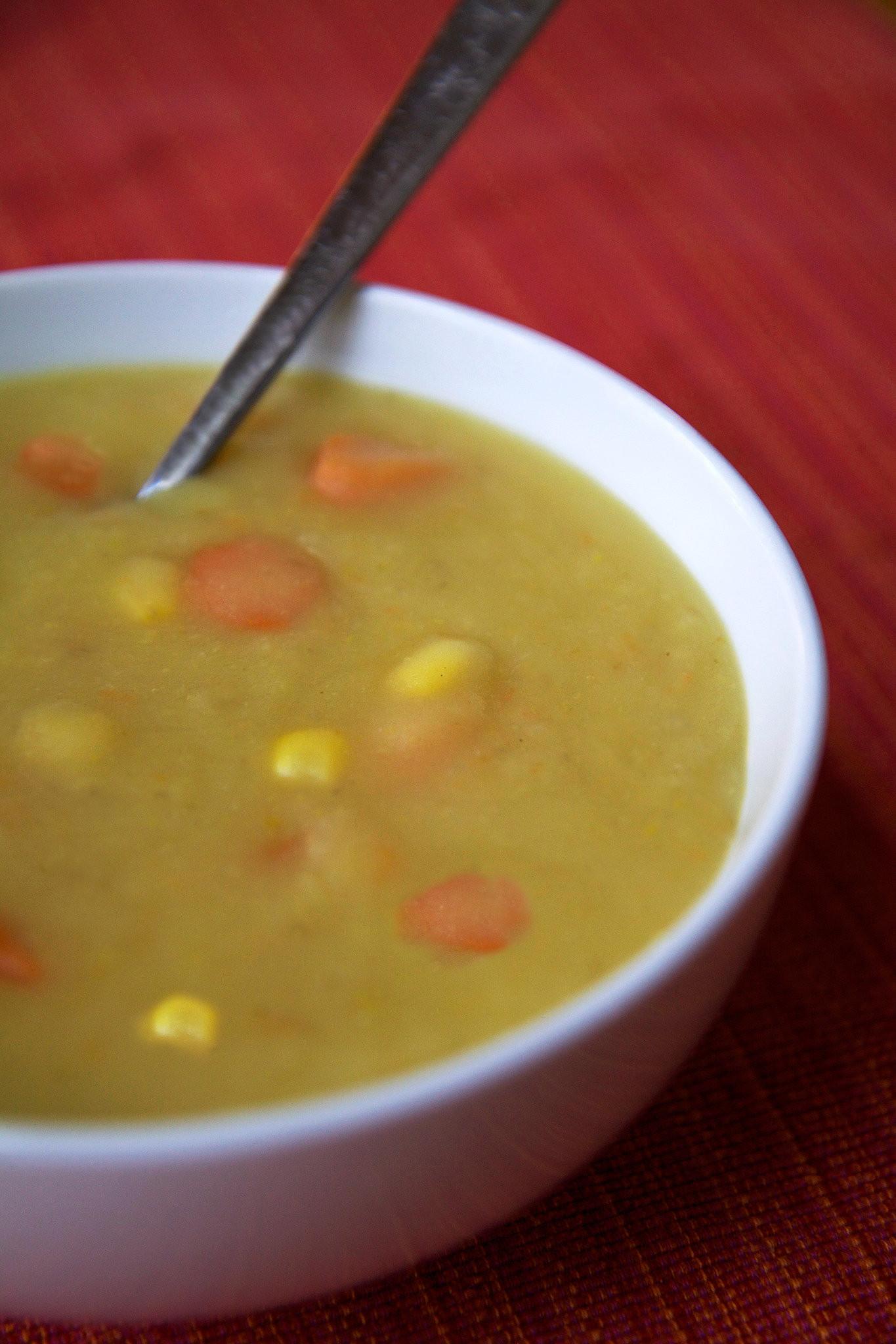 Potato Leek Soup Dairy Free  Cream Free Potato Leek Soup