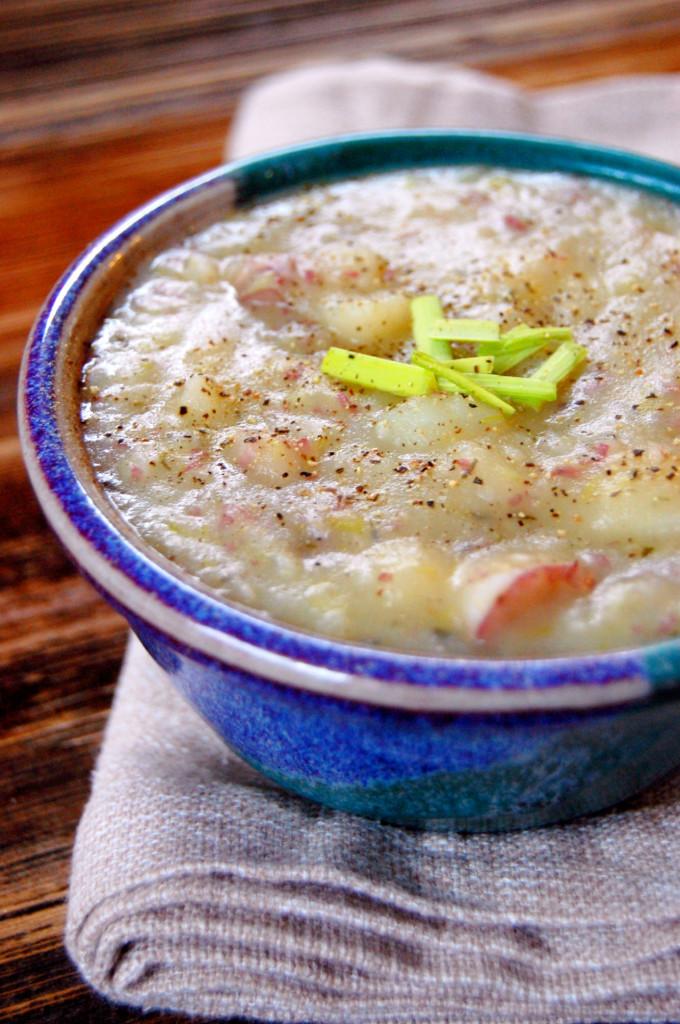 Potato Leek Soup Dairy Free  Dairy Free Potato Leek Soup