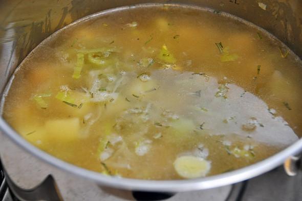 Potato Leek Soup Dairy Free  Dairy Free Potato and Leek Soup Fuss Free Cooking