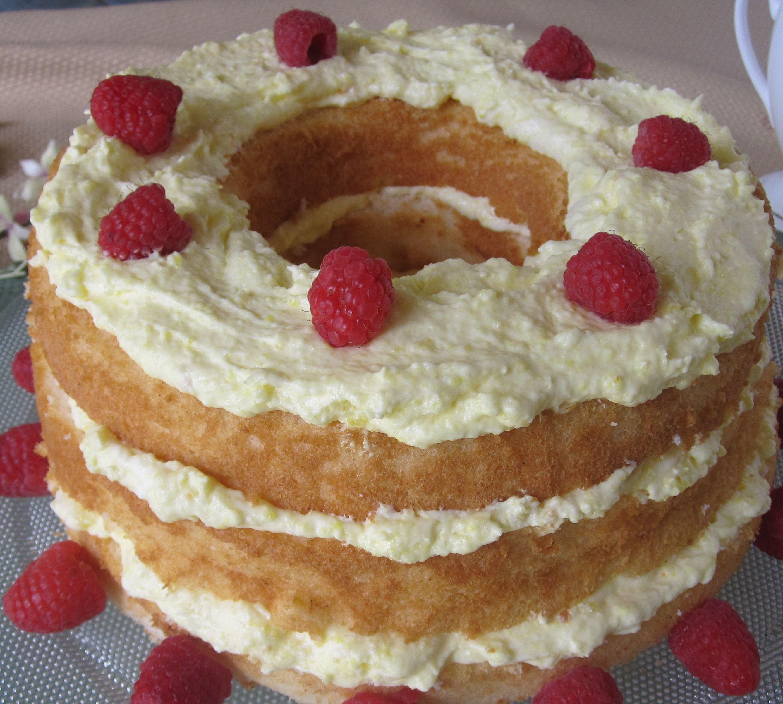 Pre Diabetic Desserts  Easy Lemon Angel Food Cake cancer and diabetic friendly