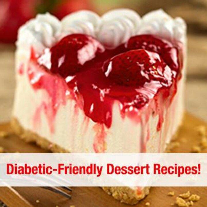 Pre Diabetic Desserts  Diabetic desserts Food Pinterest