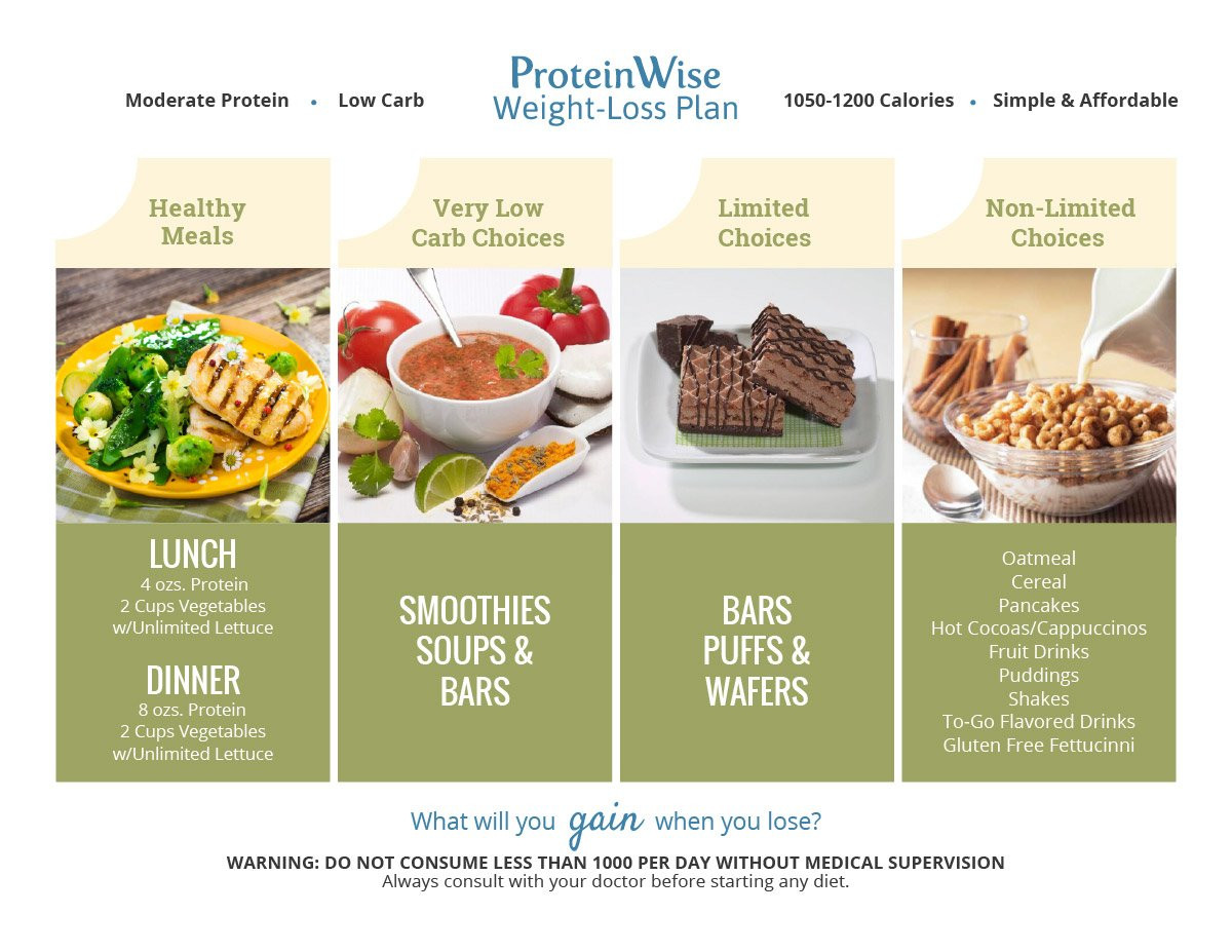 Protein Dinners For Weight Loss  ProteinWise Weight Loss Plan