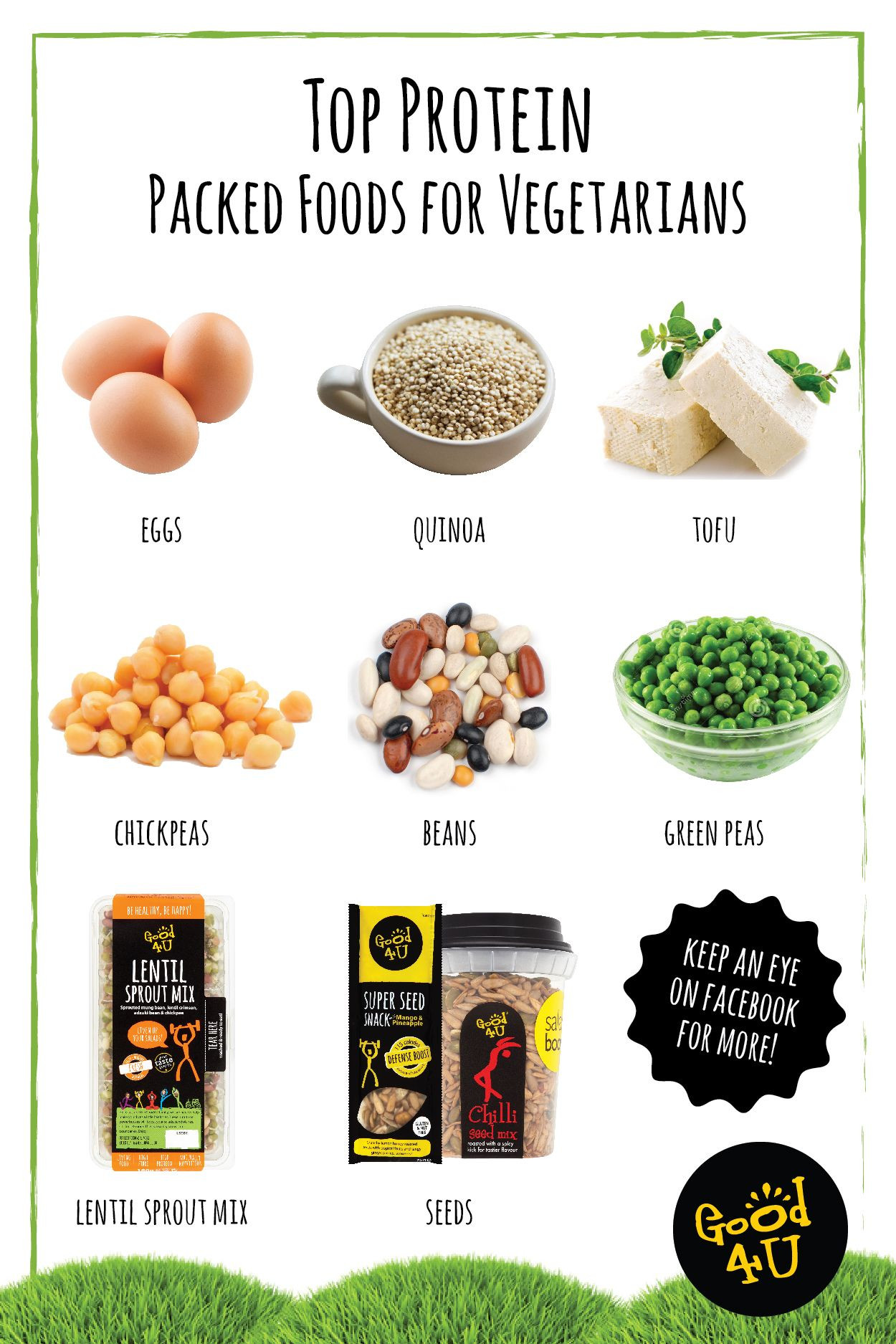 Protein Food For Vegetarian  Top Protein Packed Foods for Ve arians Source of