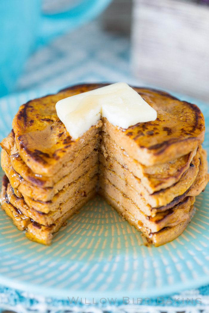 Protein Pancakes Low Carb  Five Ingre nt Pumpkin Protein Pancakes low carb gluten