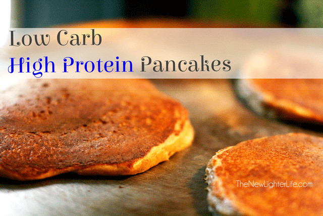 Protein Pancakes Low Carb  Low Carb Pancakes High Protein THM S