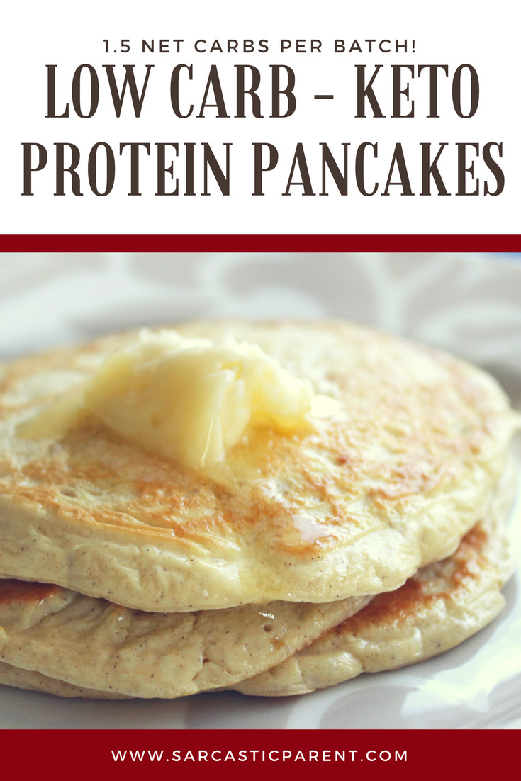 Protein Pancakes Low Carb  Low Carb Keto Protein Pancakes