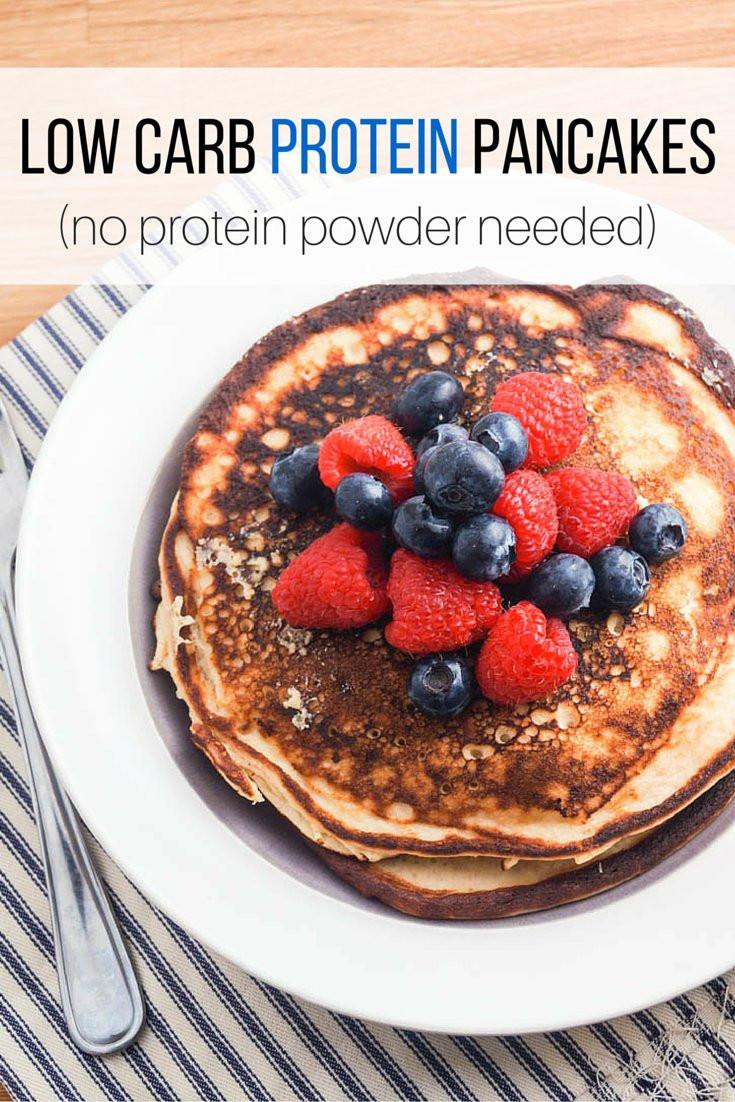 Protein Pancakes Low Carb  Low Carb Protein Pancakes Slender Kitchen