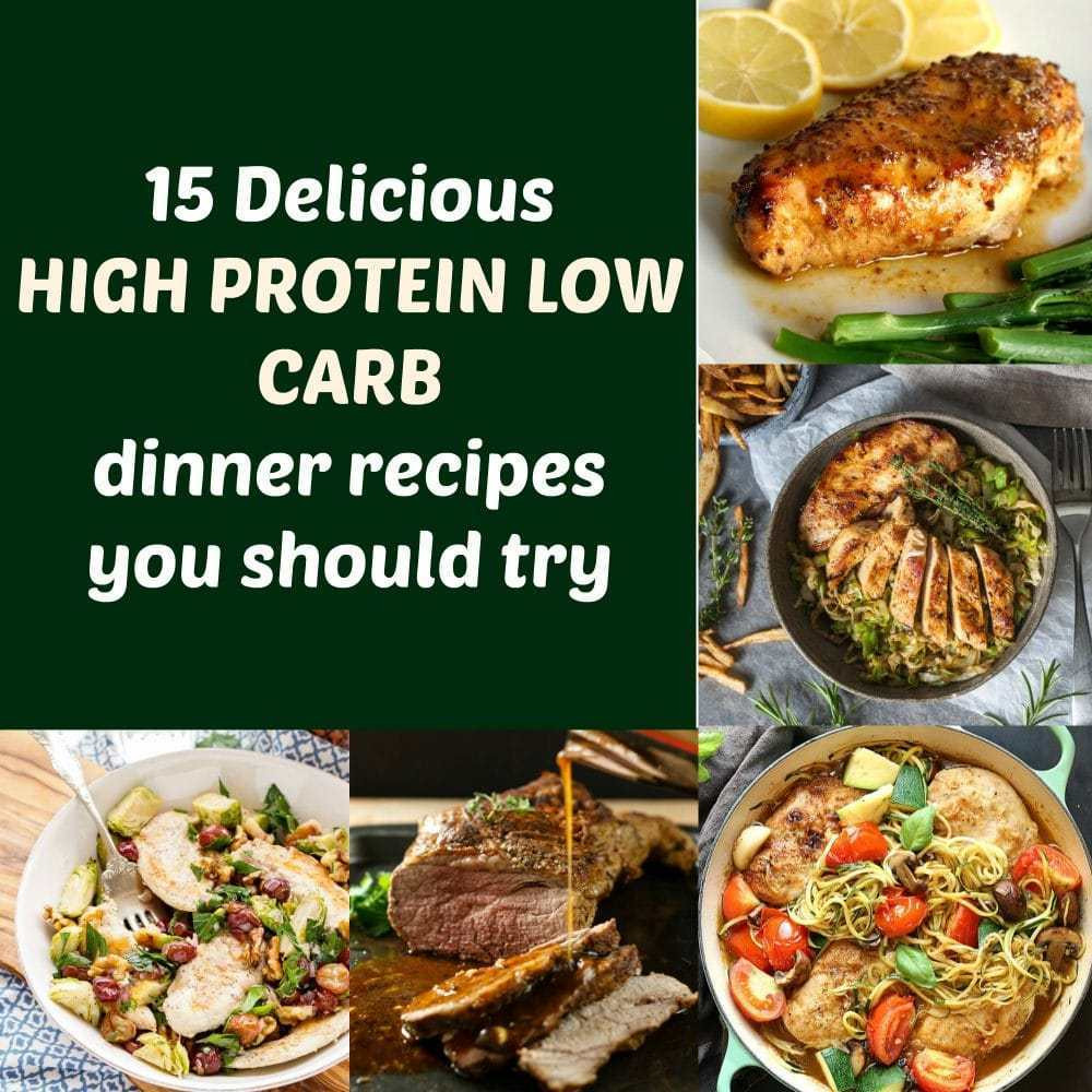 Protein Recipes Low Carb  15 Delicious high protein low carb dinner recipes you