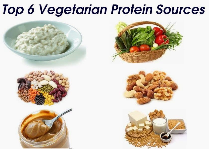 Protein Vegetarian Diets  Top 6 Protein Sources for Ve arians