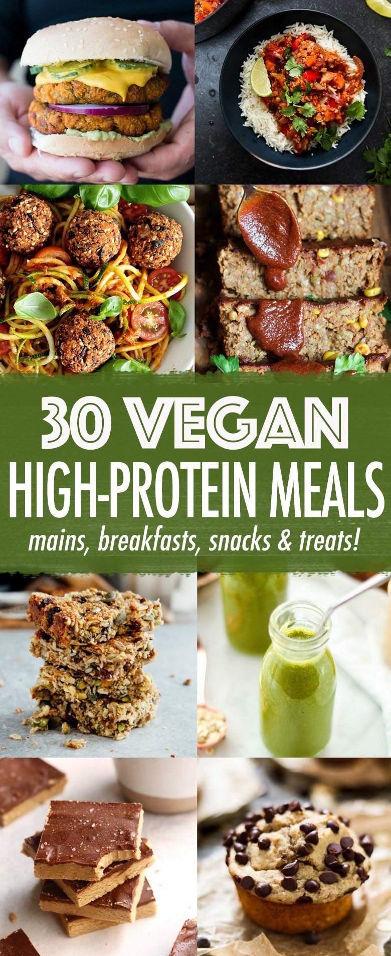 Protein Vegetarian Food  30 High protein Vegan Meals Wallflower Kitchen