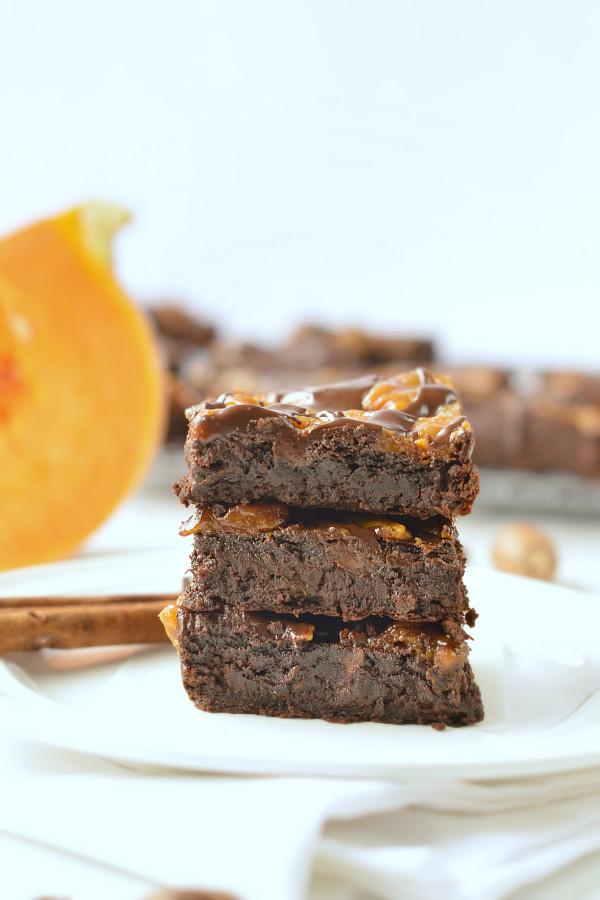 Pumpkin Brownies Vegan  Paleo Pumpkin Brownies Vegan Healthy Sweetashoney