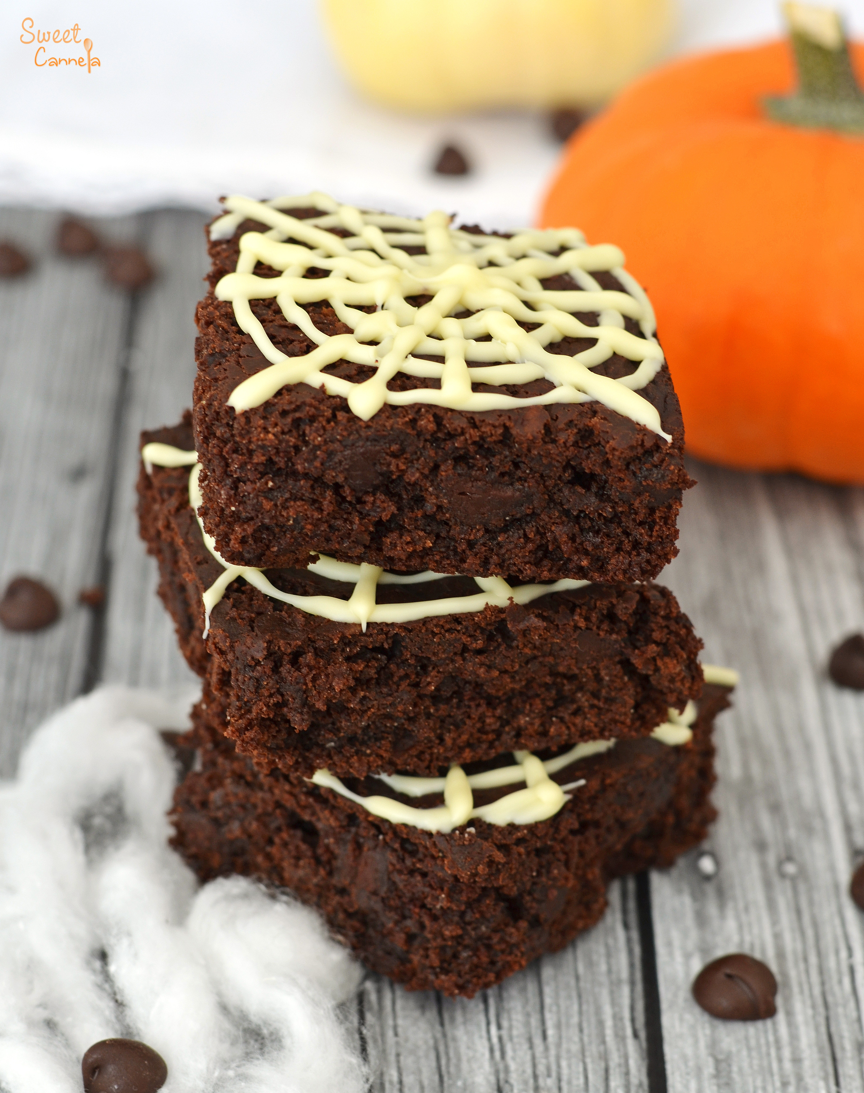 Pumpkin Brownies Vegan  Vegan Pumpkin Brownies – Brownies Veganos de Calabaza