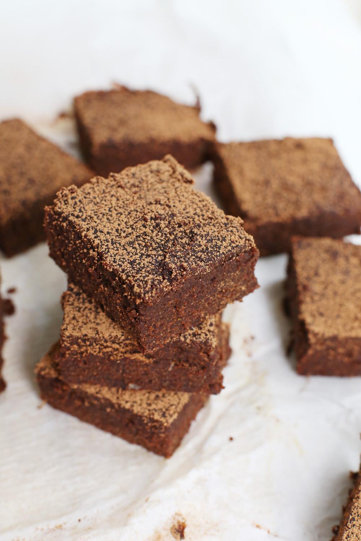 Pumpkin Brownies Vegan  Easy Pumpkin Brownies
