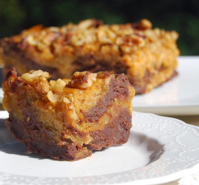 Pumpkin Brownies Vegan  Vegan Pumpkin Chocolate Brownies Whole Wheat • Holy Cow
