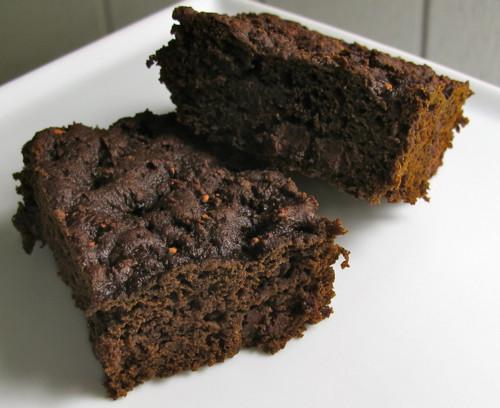 Pumpkin Brownies Vegan  Double Chocolate Pumpkin Brownies Vegan Gazing In