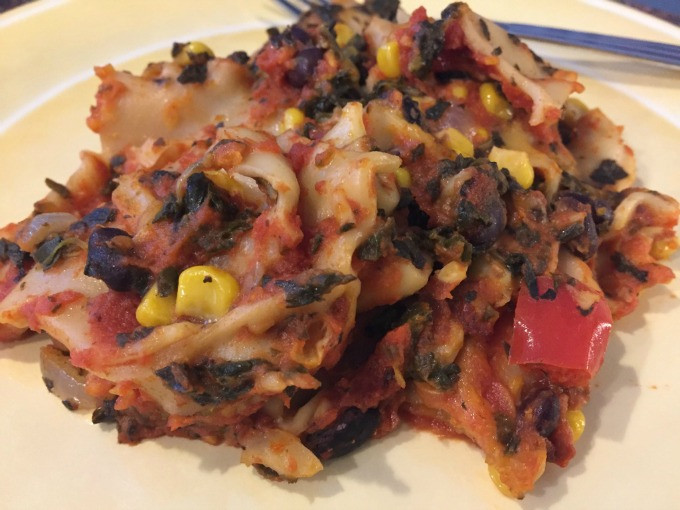 Pumpkin Lasagna Vegetarian  Slow Cooker Pumpkin Ve arian Lasagna Vegging at the Shore