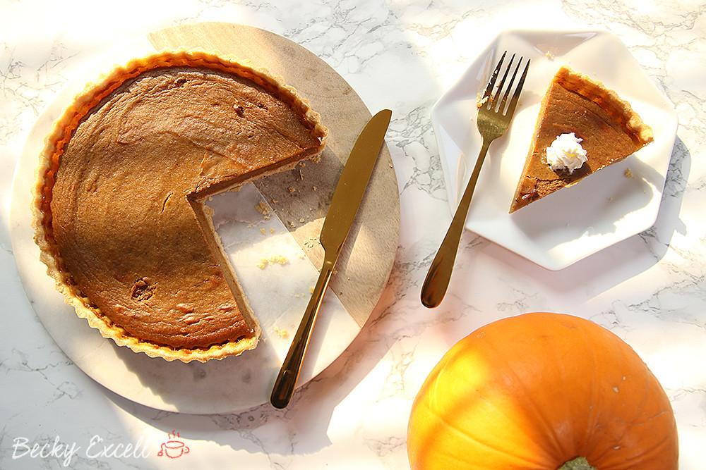 Pumpkin Pie Recipe Dairy Free  Gluten Free Pumpkin Pie Recipe dairy free and low FODMAP