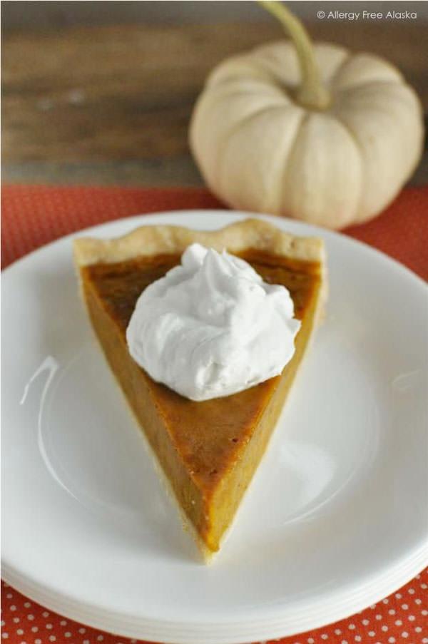 Pumpkin Pie Recipe Dairy Free  25 Gluten Free Thanksgiving Desserts onecreativemommy