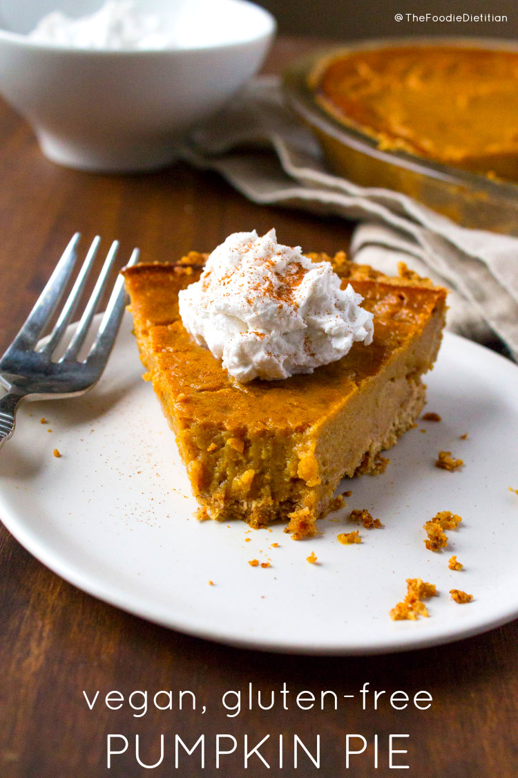 Pumpkin Pie Recipe Dairy Free  Kara Lydon