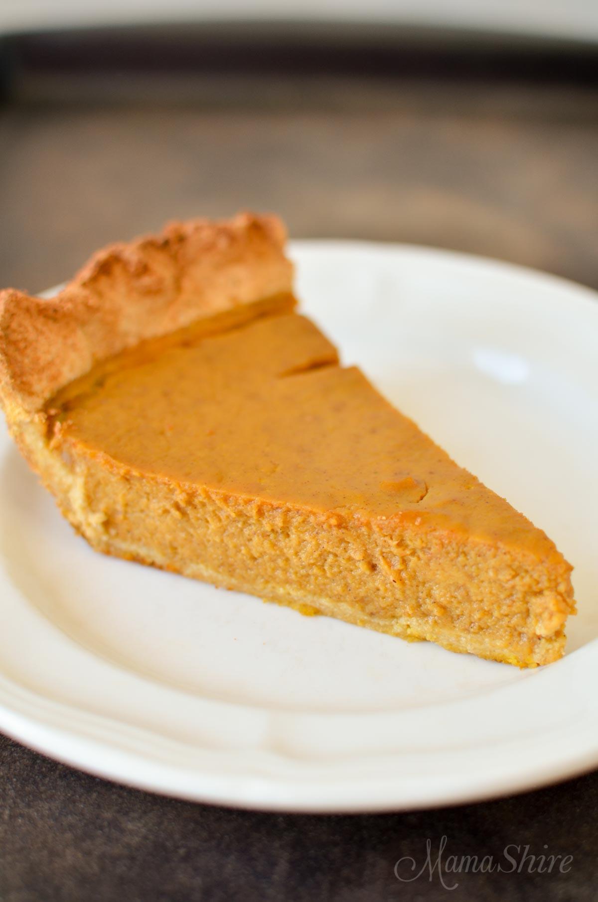 Pumpkin Pie Recipe Dairy Free  Pumpkin Pie Gluten Dairy and Sugar Free