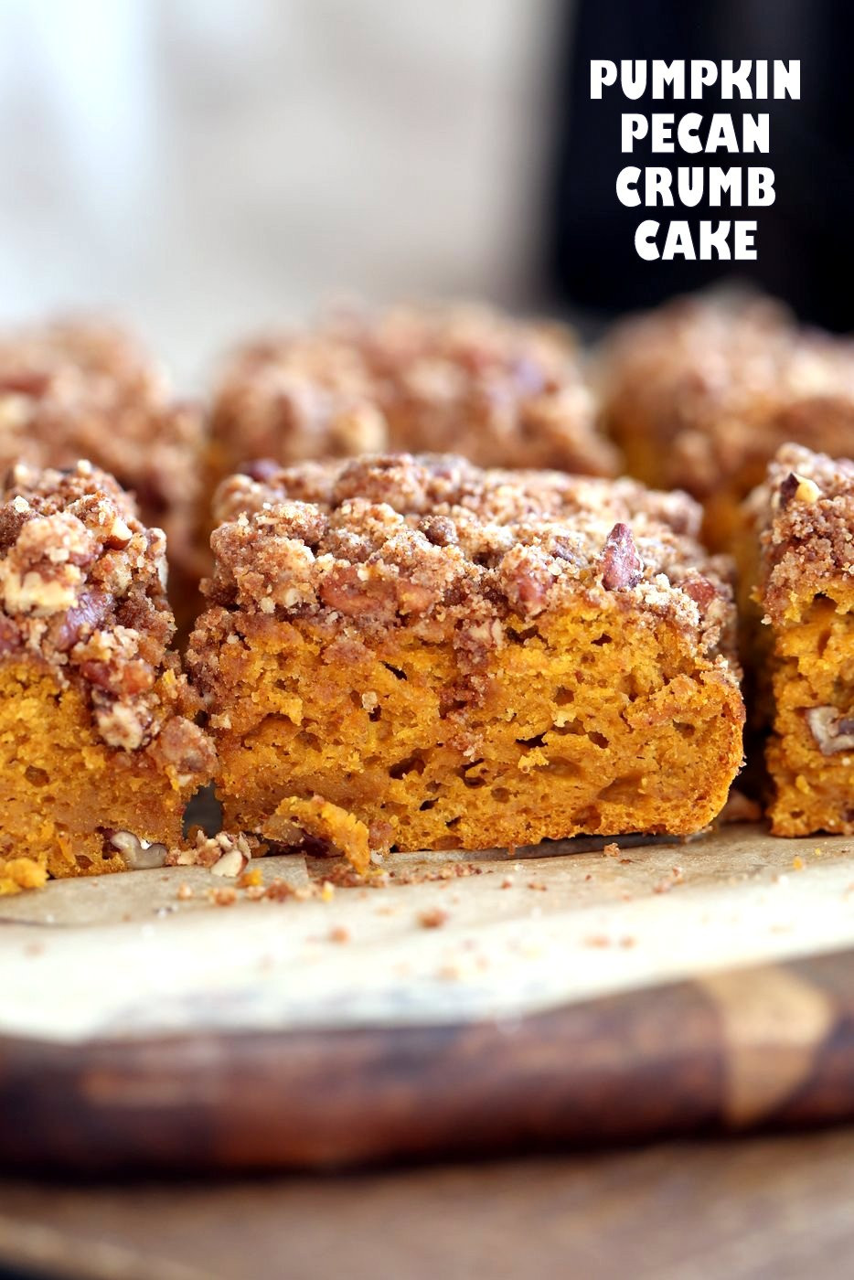 Pumpkin Recipes Vegan  Vegan Pumpkin Coffee Cake with Pecan Crumb Vegan Richa