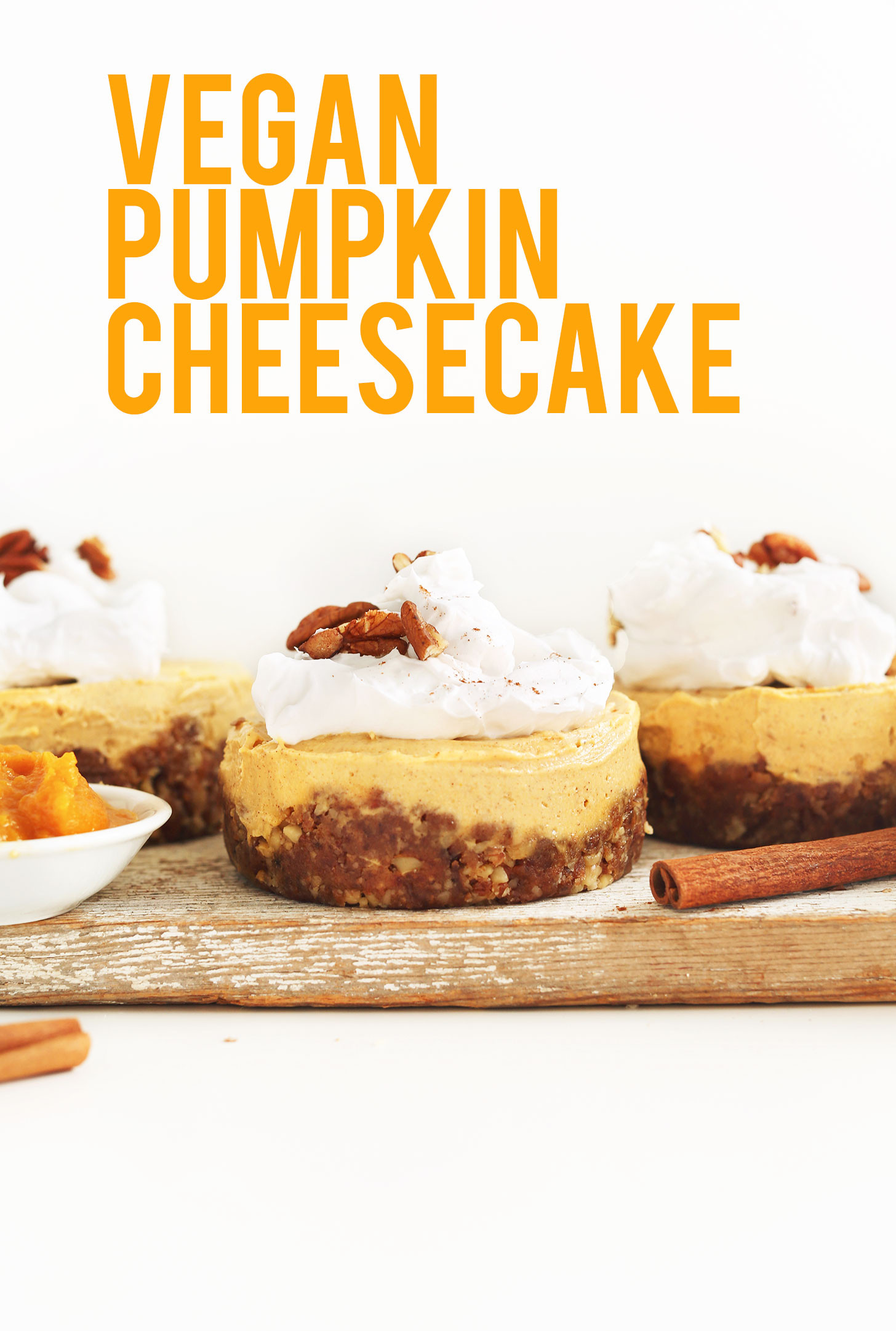 Pumpkin Recipes Vegan  Vegan Pumpkin Cheesecake