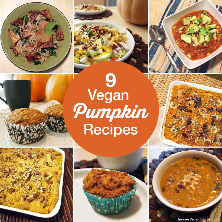Pumpkin Recipes Vegan  9 Vegan Pumpkin Recipes Dianne s Vegan Kitchen