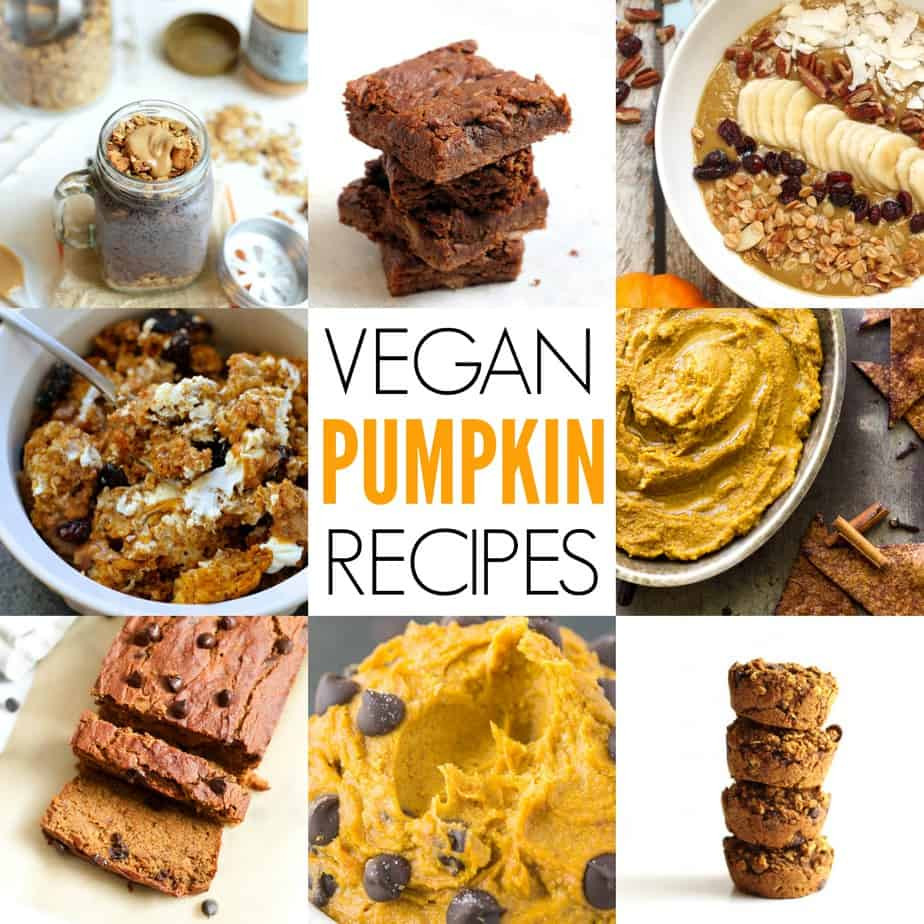 Pumpkin Recipes Vegan  21 Vegan Pumpkin Recipes
