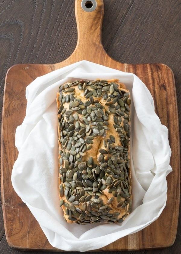 Pumpkin Seeds Keto  Keto Bread with Pumpkin Seeds [Recipe] KETOGASM