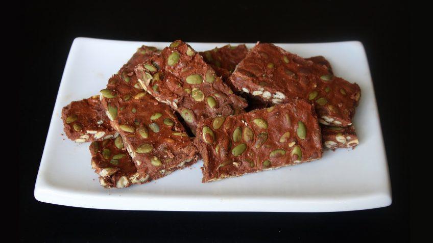 Pumpkin Seeds Keto  Keto Chocolate Pumpkin Seed Bark Keto Meals and Recipes