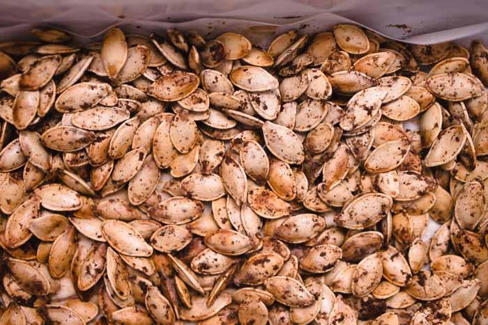 Pumpkin Seeds Keto  Masala Spiced Pumpkin Seeds Recipe KETOGASM