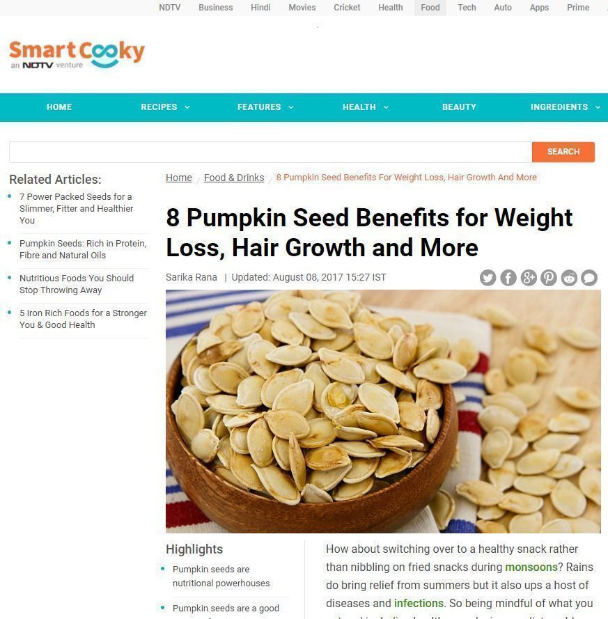 Pumpkin Seeds Weight Loss  Health Pumpkin Oil