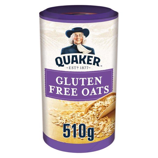 Quaker Oats Gluten Free Oatmeal  Morrisons Quaker Oats Gluten Free Oats 510g Product