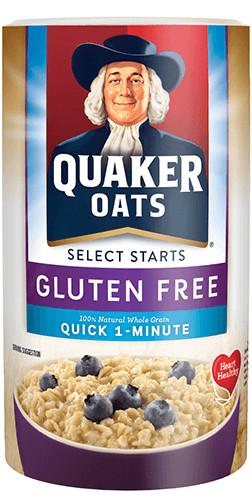 Quaker Oats Gluten Free Oatmeal  Product Hot Cereals Quaker Gluten Free 1 Minute