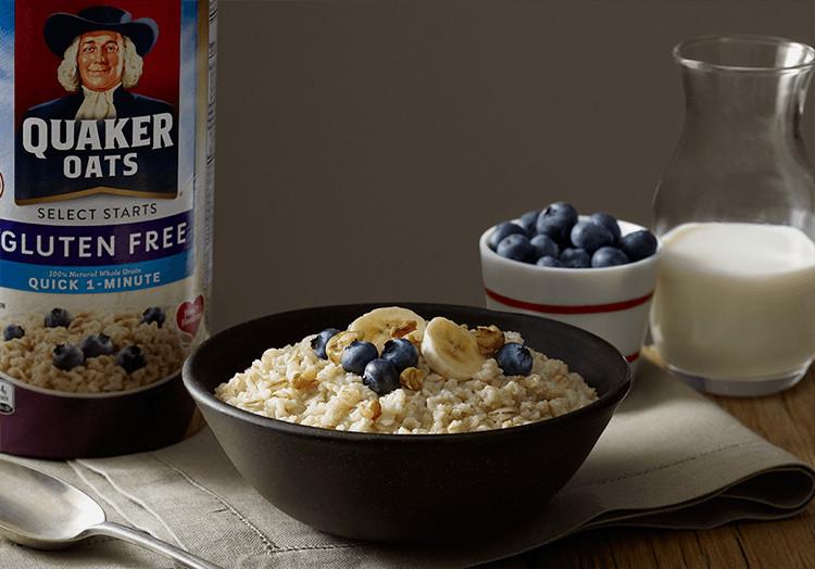 Quaker Oats Gluten Free Oatmeal  Wel e to Quaker Oats