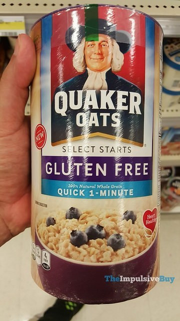 Quaker Oats Gluten Free Oatmeal  SPOTTED ON SHELVES – 4 19 2016 – The Impulsive Buy