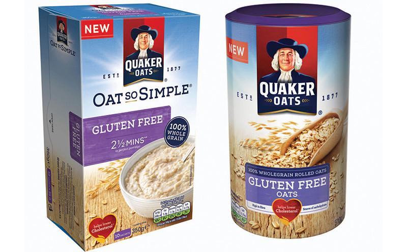Quaker Oats Gluten Free Oatmeal  Breakthrough oats