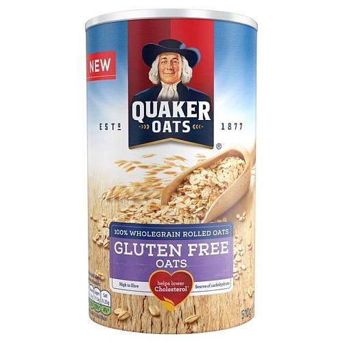 Quaker Oats Gluten Free Oatmeal  Quaker Oat So Simple Gluten Free Original Porridge 510g