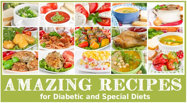 Quick And Easy Diabetic Recipes For One  Easy Recipes for Diabetics and Other Special Health Needs