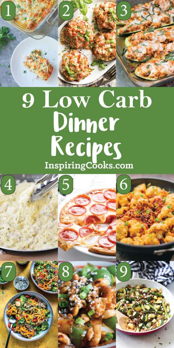 Quick And Easy Low Carb Recipes  9 of the Best Quick and Easy Low Carb Dinner Recipes