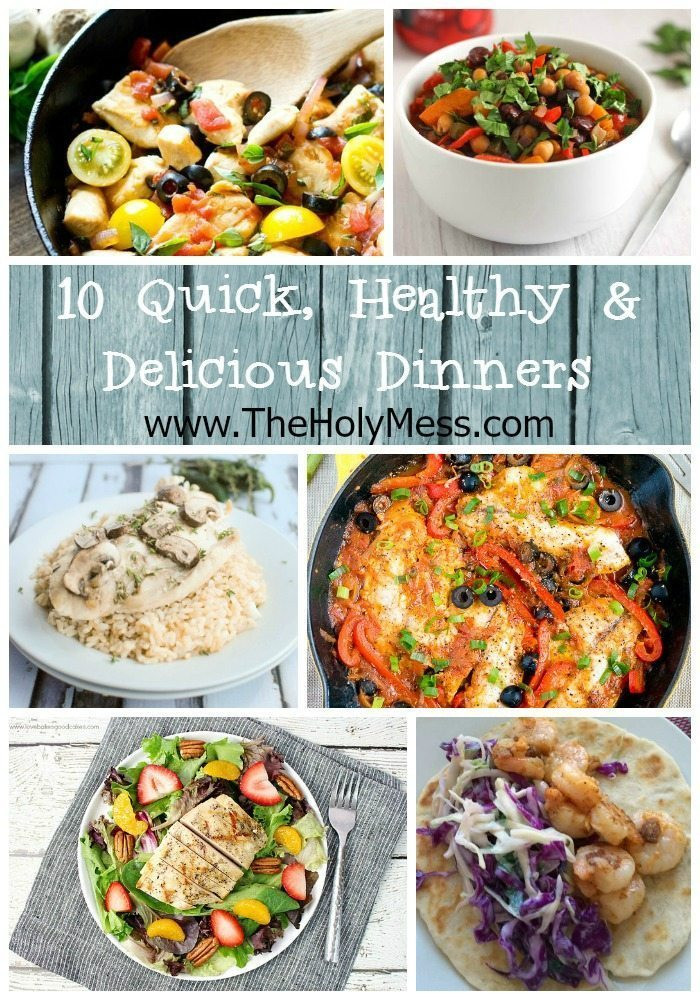 Quick Healthy Family Dinners  10 Quick and Healthy Family Dinner Ideas