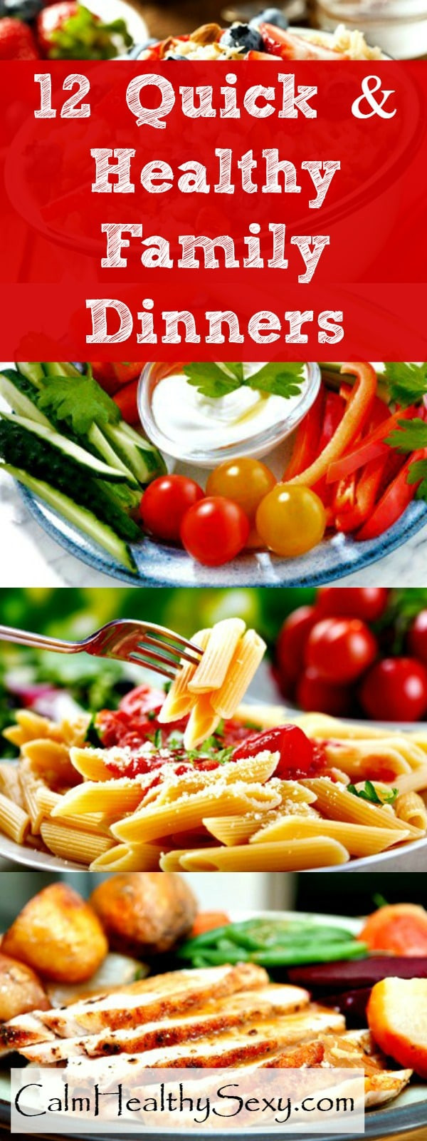 Quick Healthy Family Dinners  12 Quick and Healthy Family Dinners For Busy Moms with