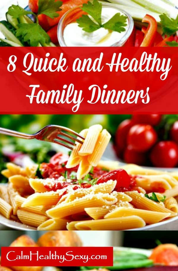 Quick Healthy Family Dinners  8 Quick and Healthy Family Meals For Busy Moms with