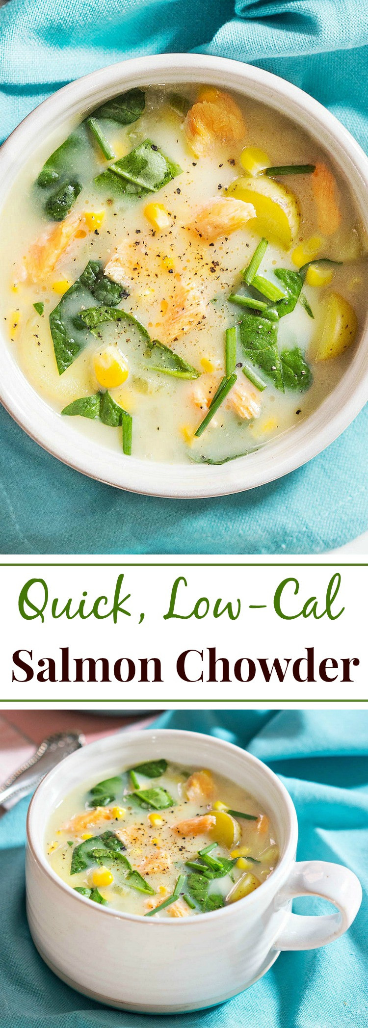 Quick Low Calorie Dinners  Quick Low Cal Salmon Chowder Simply Fresh Dinners