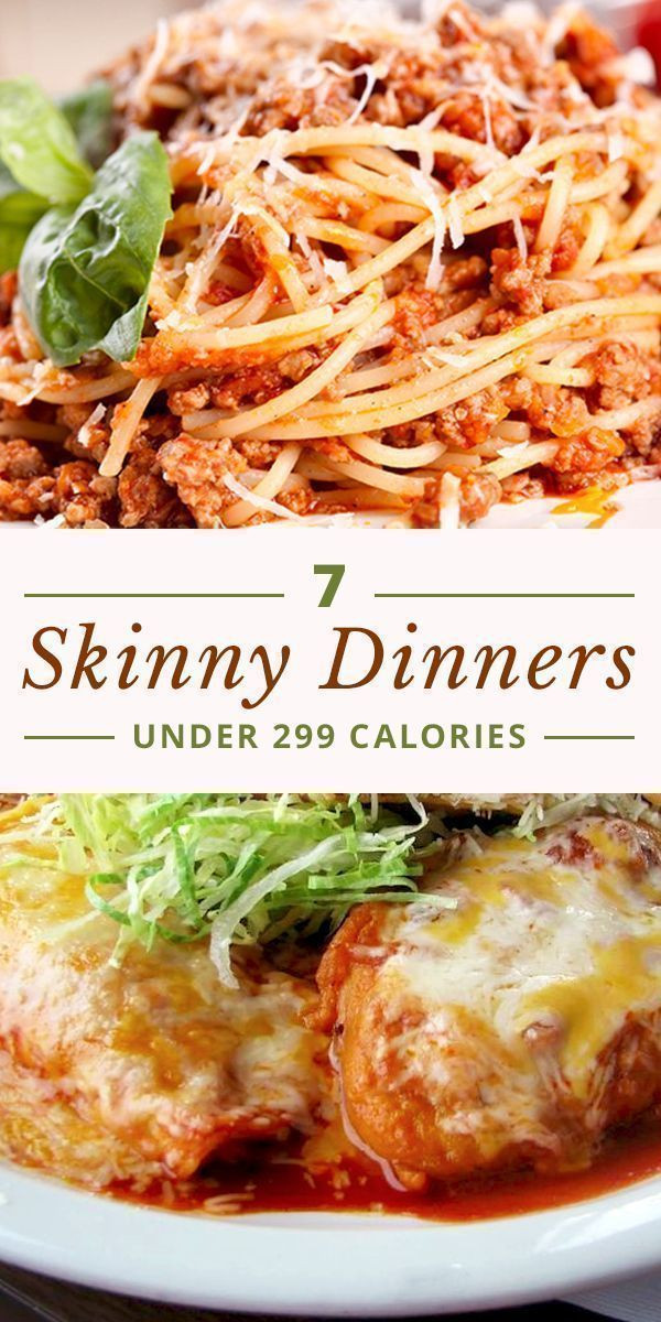Quick Low Calorie Dinners  7 Skinny Dinners Under 299 Calories