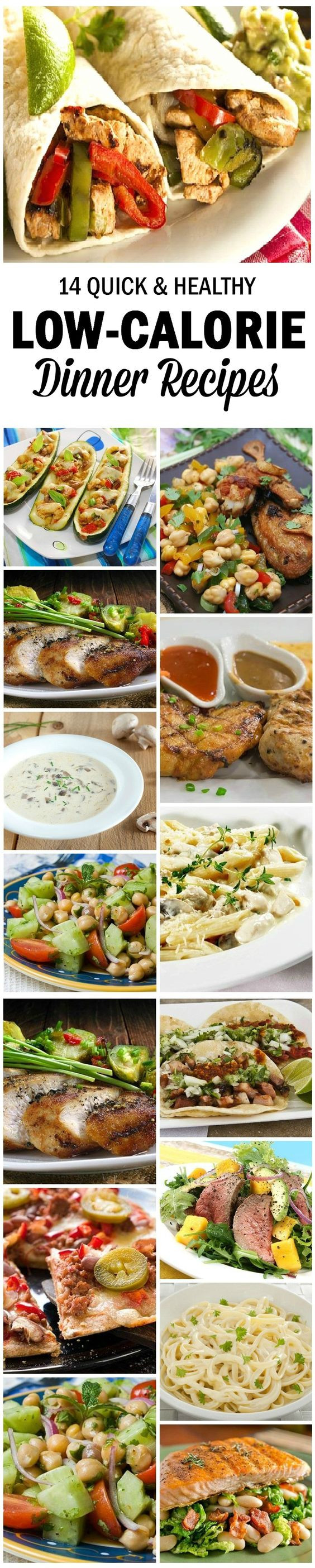 Quick Low Calorie Dinners  14 Quick And Healthy Low Calorie Dinner Recipes