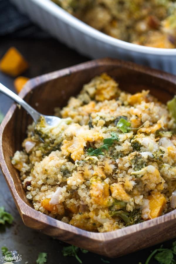 Quinoa Carbs Keto  Low Carb Broccoli Cheese Casserole Life Made Keto