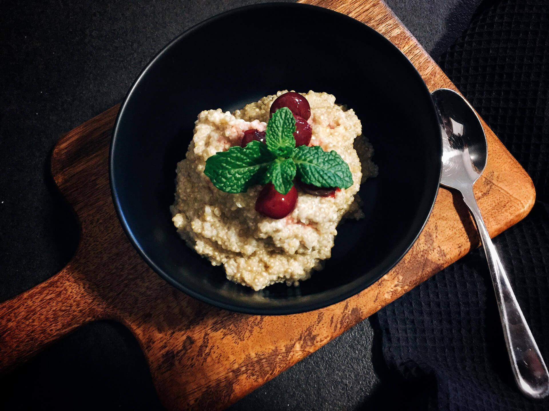 Quinoa Carbs Keto  Low carb Frühstücksbrei süßer Quinoa Low carb