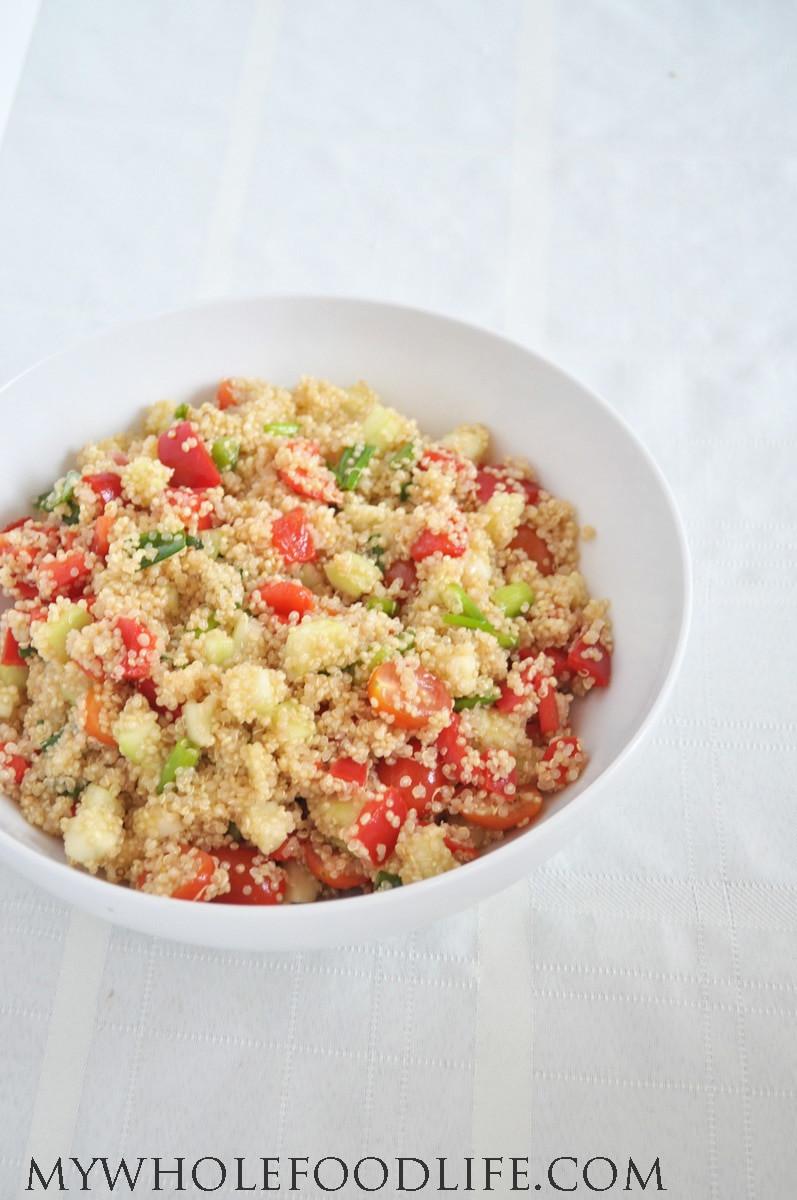 Quinoa Recipe Healthy  Healthy Quinoa Salad My Whole Food Life