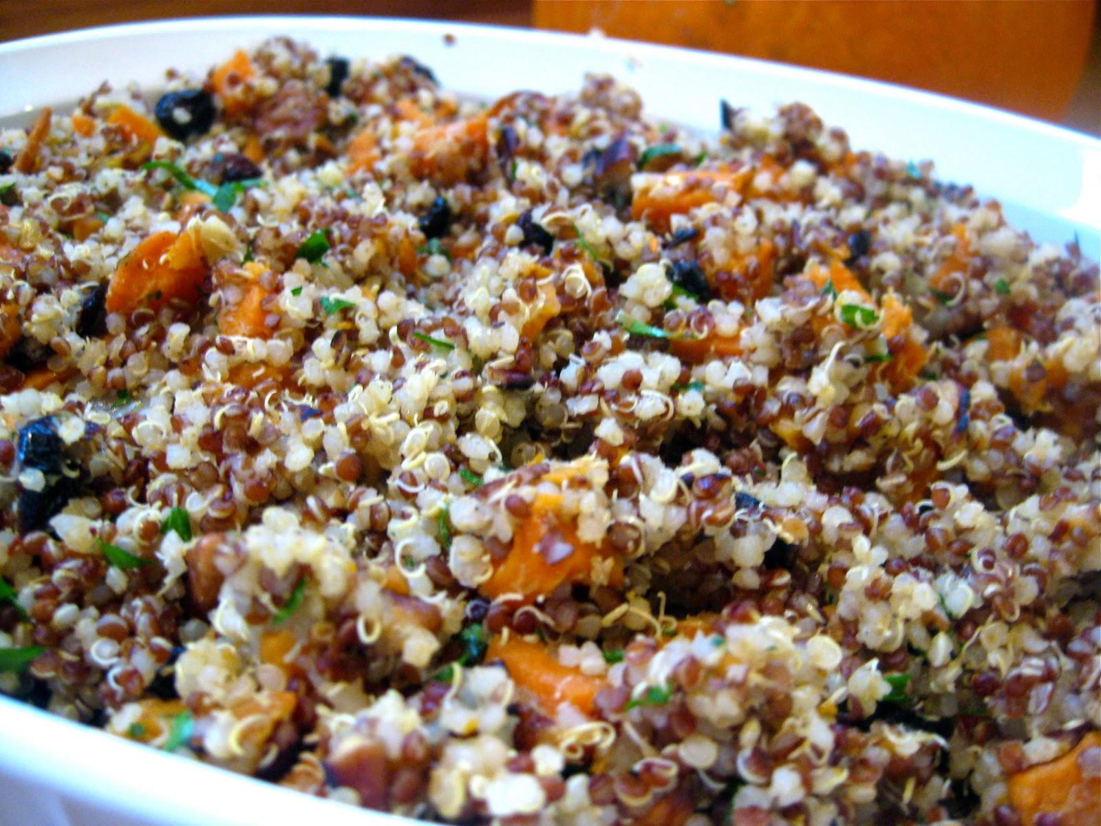 Quinoa Recipe Healthy  Quinoa Stuffing Recipe Gluten Free & Vegan